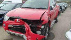 damaged Mitsubishi 1